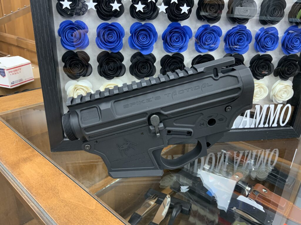 Spikes Tactical upper/Lower 9mm $655.00